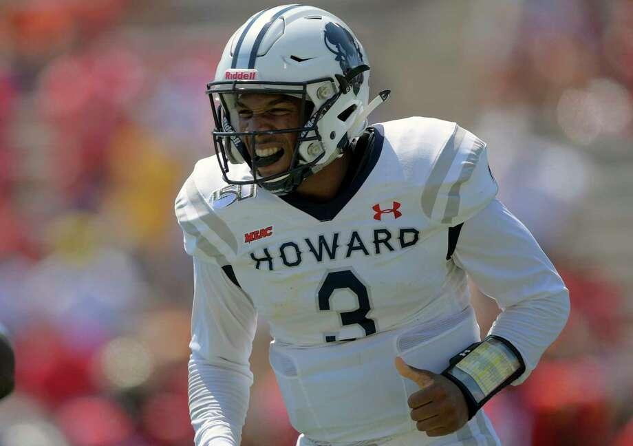 Former Howard quarterback Caylin Newton is heading to Auburn and the SEC. Photo: Washington Post Photo By John McDonnell / The Washington Post