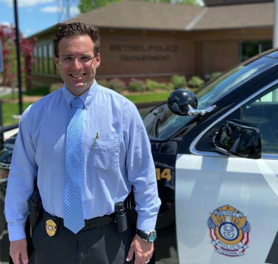"""Detective Jonathan """"Chuck"""" McClintock was named the Bethel Police Department's 2019 Officer of the Year. Photo: Contributed Photo / Bethel Police Department"""