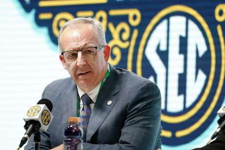Southeastern Conference Commissioner Greg Sankey said conference schools will be able to bring football and basketball players back to campus for voluntary activities starting June 8 at the discretion of each university. The SEC's announcement is the latest sign of encouragement that a college football season in at least some form can go on this fall.