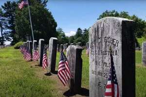 Veteran grave sites featured in the Danbury Fire Department's Memorial Day tribute video, directed by Lt. Nick Cabral, firefighters Gabe Rivera, John Whitehead, Jason Culbreth, Nick Nunnally and Jeff Perkins. The two-minutes video was filmed and edited by firefighter Gabe Rivera and Deputy Chief Bernie Meehan.