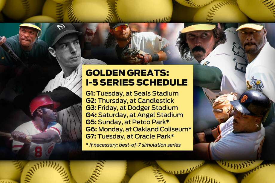 Golden Greats: The I-5 Series schedule Photo: The Chronicle