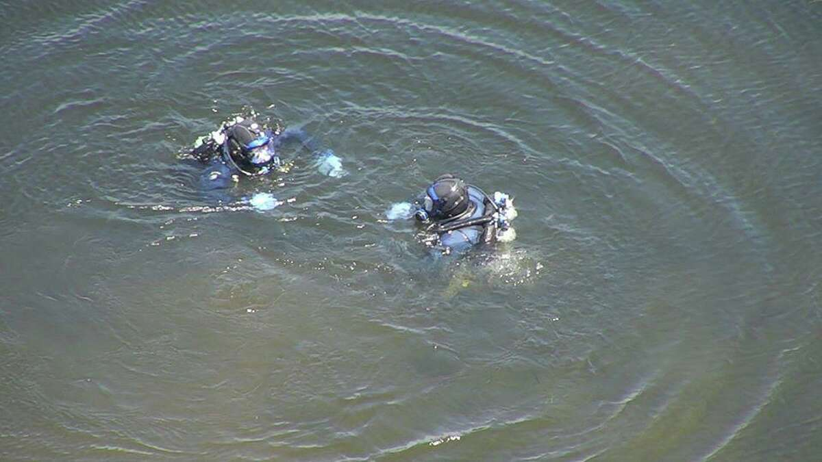The Fairfield, Conn., police Dive Team during training on Friday, May 22, 2020.