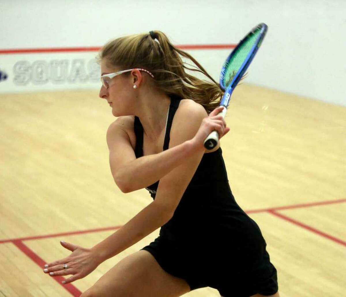 Binney Huffman, who recently concluded her senior year at Greenwich Academy, was selected as a High School All-American by U.S. Squash.