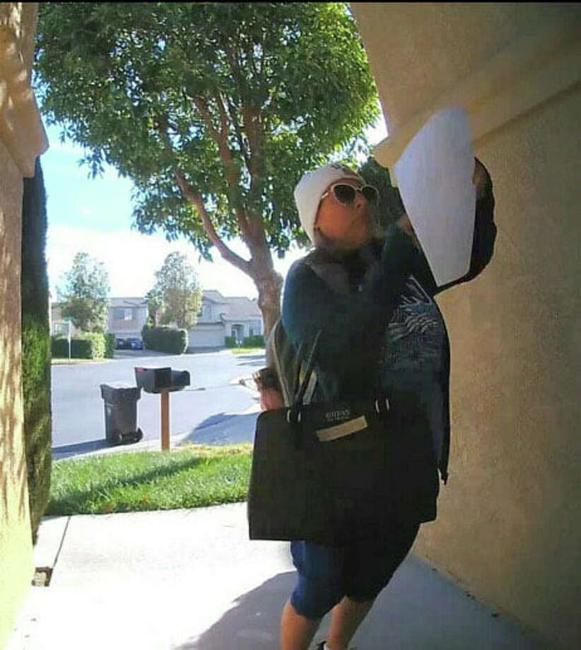 Nancy Arechiga, 52, of San Leandro is accused of posting xenophoic letters on homes and around the neighborhood on Friday, May 22, 2020, police say. Photo: Facebook