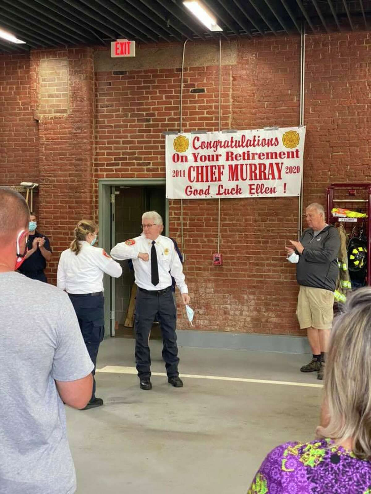 Naugatuck, Conn., Fire Chief Ellen Murray will retire in June 2020. She is known as Connecticut's first ever career female firefighter.