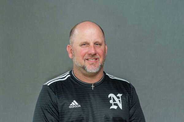 Keith Barrow, Nederland boys soccer coach is the 2020 Super Gold Boys Soccer Coach of the Year.. Photo made on May 21, 2020. Fran Ruchalski/The Enterprise