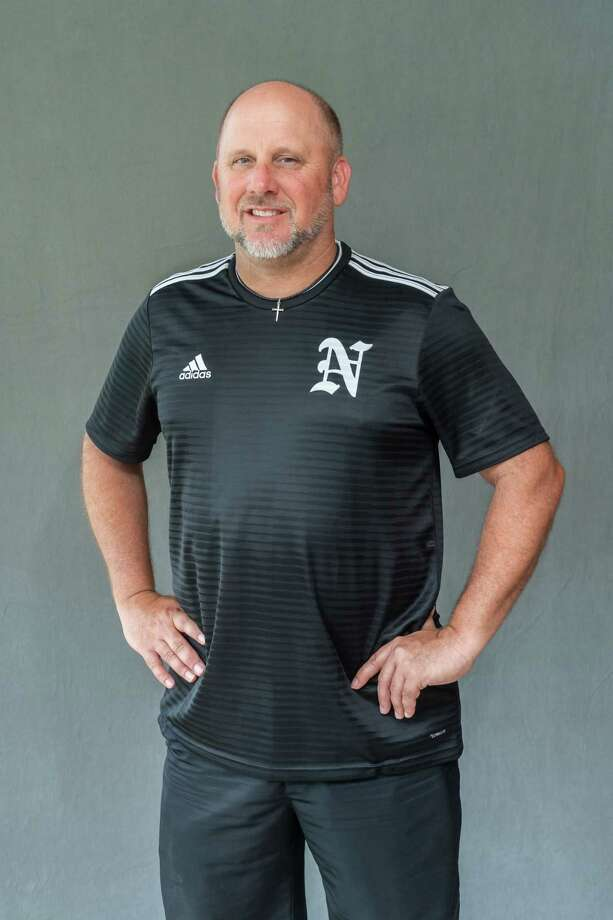 Keith Barrow, Nederland boys soccer coach is the 2020 Super Gold Boys Soccer Coach of the Year.. Photo made on May 21, 2020.  Fran Ruchalski/The Enterprise Photo: Fran Ruchalski, The Enterprise / The Enterprise / © 2020 The Beaumont Enterprise