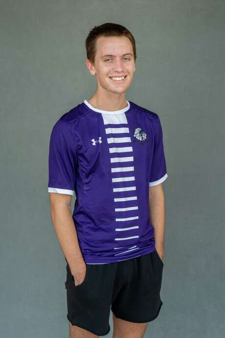 Jason Lovejoy, a midfielder for Port Neches-Groves is the 2020 Super Gold Boys Soccer Player of the Year. Photo made on May 21, 2020.  Fran Ruchalski/The Enterprise Photo: Fran Ruchalski, The Enterprise / The Enterprise / © 2020 The Beaumont Enterprise