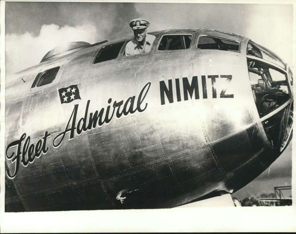 Chester Nimitz, U.S. commander in chief of the Pacific fleet and Pacific ocean areas during WWII, was from Fredericksburg.