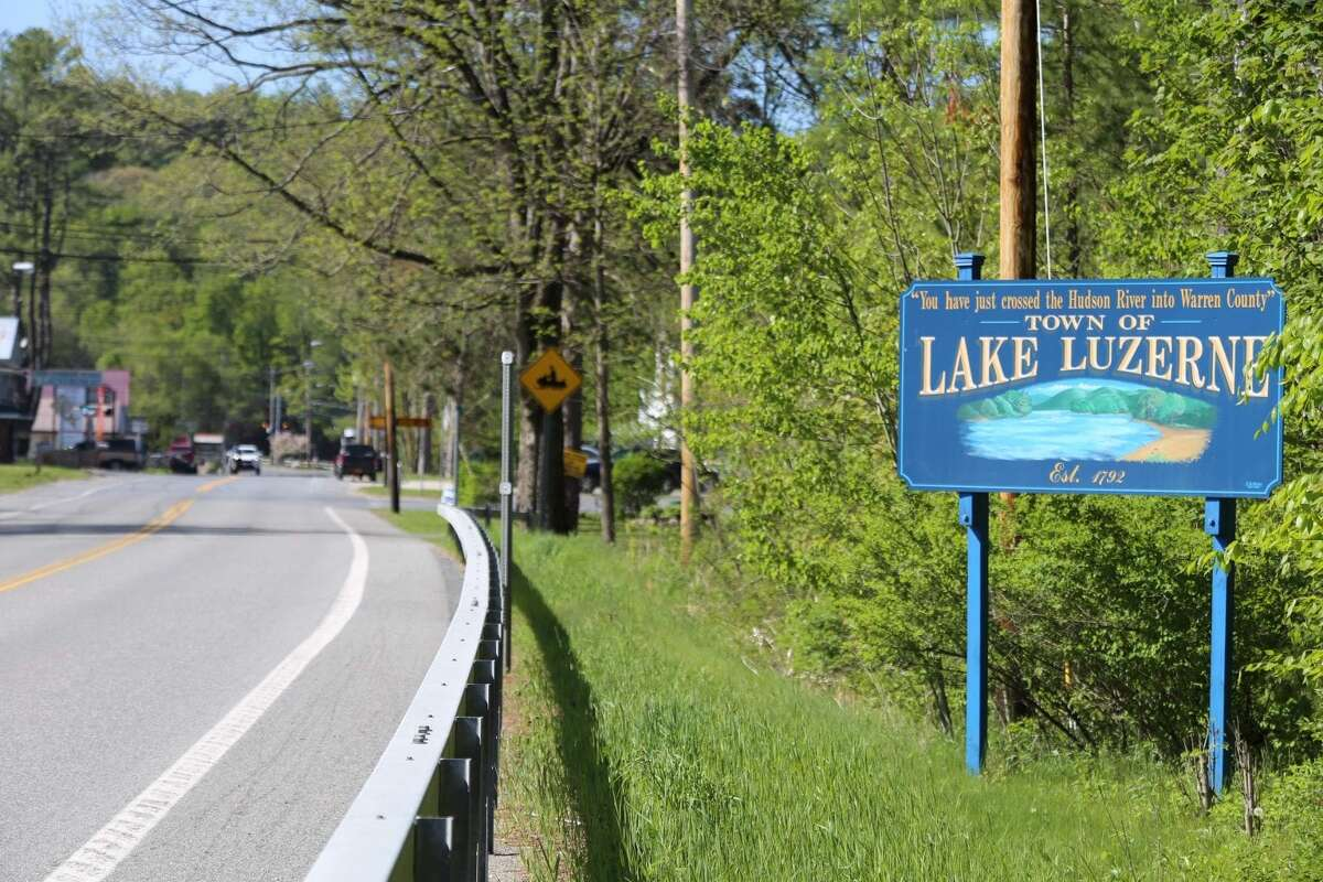 Lake Luzerne proposes denser Adirondack Park Agency zoning on 100 acres, though it's unclear what is envisioned for the land. (Gwendolyn Craig/Adirondack Explorer)