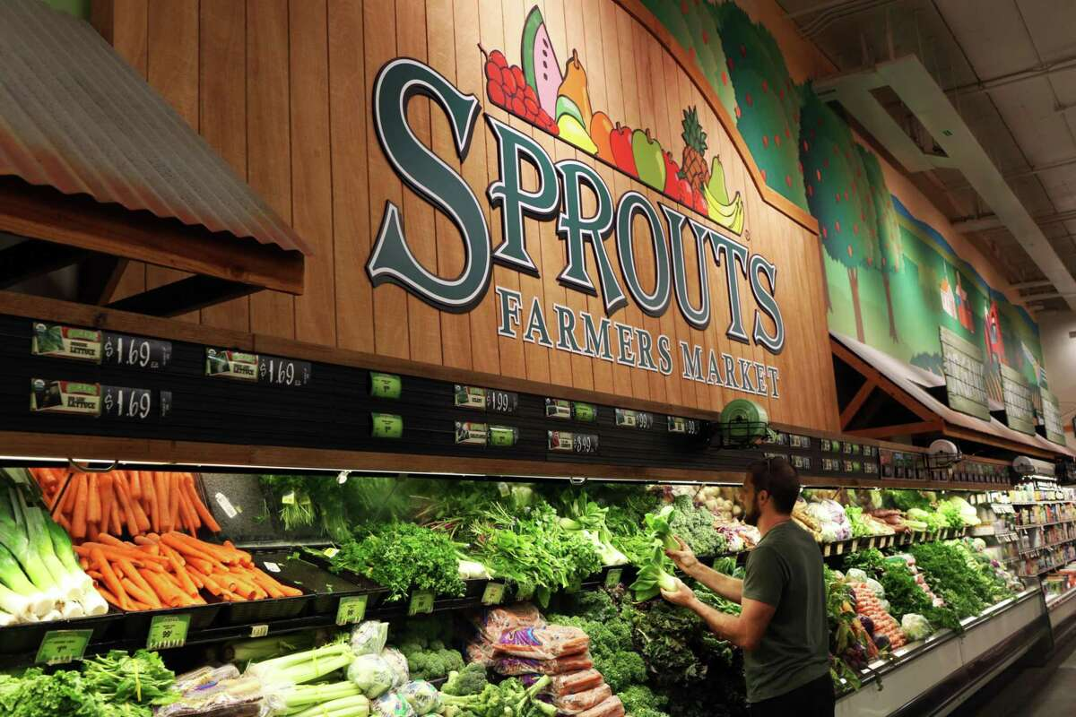A customer shops for produce at a Sprouts Farmers Market Inc. supermarket in Los Angeles on July 24, 2018.
