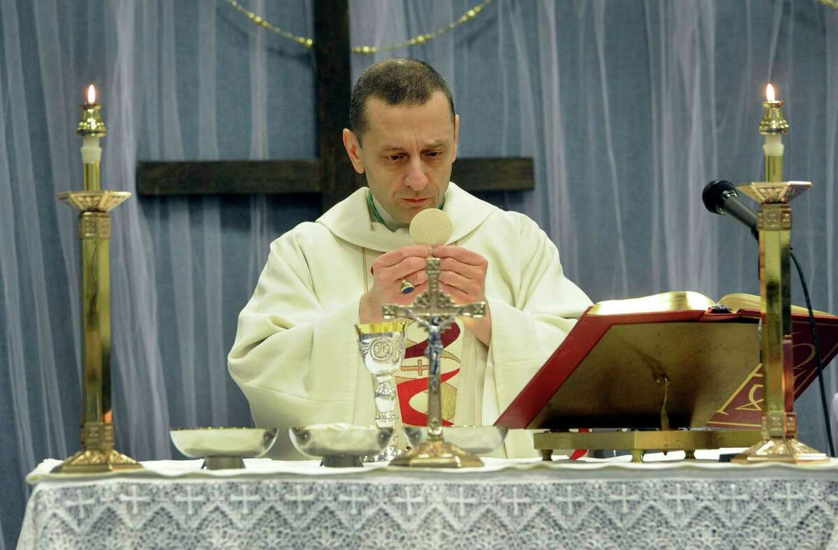 As the Bridgeport Diocese works to reopen churches for the public celebration of Mass, Bishop Frank J. Caggiano said prime reason to suspend services was