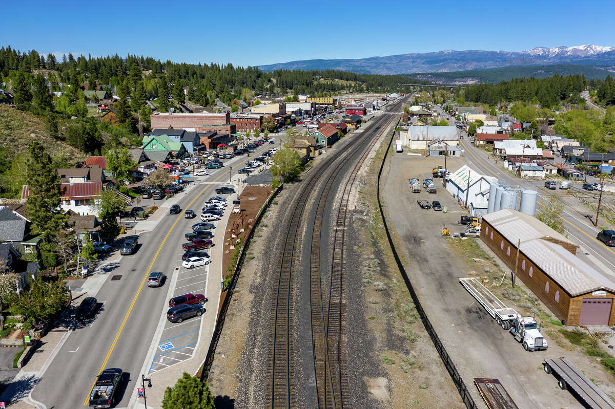Truckee was busy over the Memorial Day weekend.