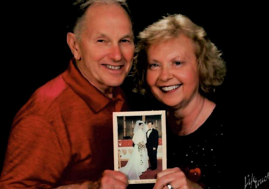 Jerilyn and Rod Schimke, of Onekama, was married at Onekama Trinity Lutheran Church on May 23, 1970. (Courtesy photo)