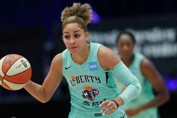 Former Husky Bria Hartley was to make her Olympic debut with France this summer until the coronavirus pandemic disrupted her plans.