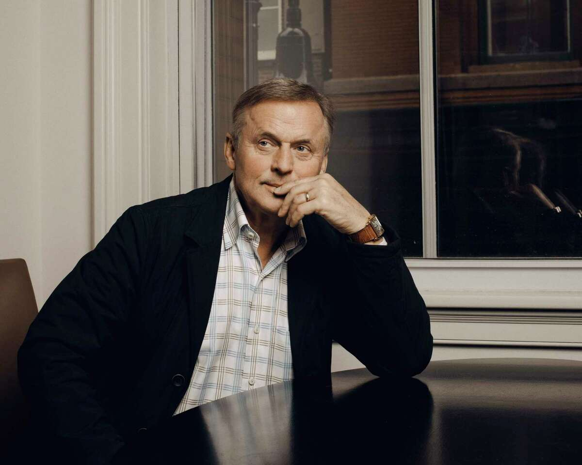John Grisham at the Mercer Hotel in New York, May 12, 2017. Grishama€™s newest and 30th novel, a€œCamino Island,a€ is a bit of a departure for the mega-best-selling author. Mr. Courtroom has written a beach book. (Ryan Pfluger/The New York Times) ORG XMIT: XNYT250