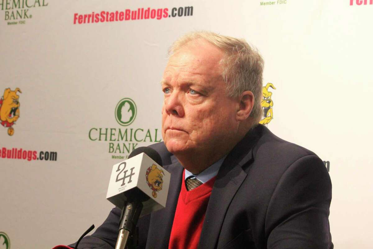 Ferris coach Bob Daniels is now faced with a 32-game regular-season schedule for next year. (Pioneer file photo)