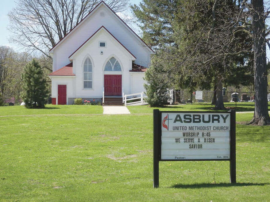 Asbury United Methodist Church near Lake Jacksonville is one of the congregations for which Gifty Smith is pastor.