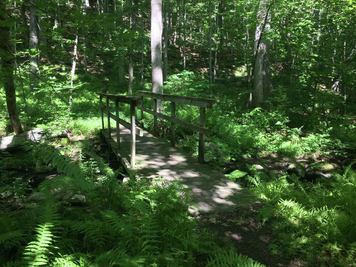 A footbridge near Huntington State Park.