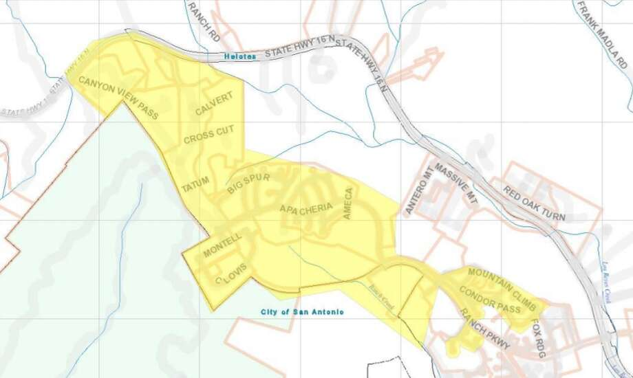 The boil notice for the Helotes area has been lifted, after a worker hit a wait main on Friday. Photo: San Antonio Water System