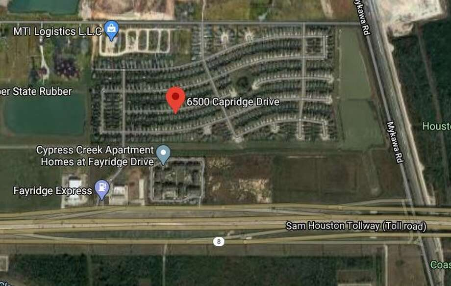 A call that the man was armed, emotional and had been drinking led multiple officers to the man in the 6500 block of Capridge Drive around 1:30 a.m., said Troy Finner, executive assistant chief of Houston Police Department. Photo: Google Maps