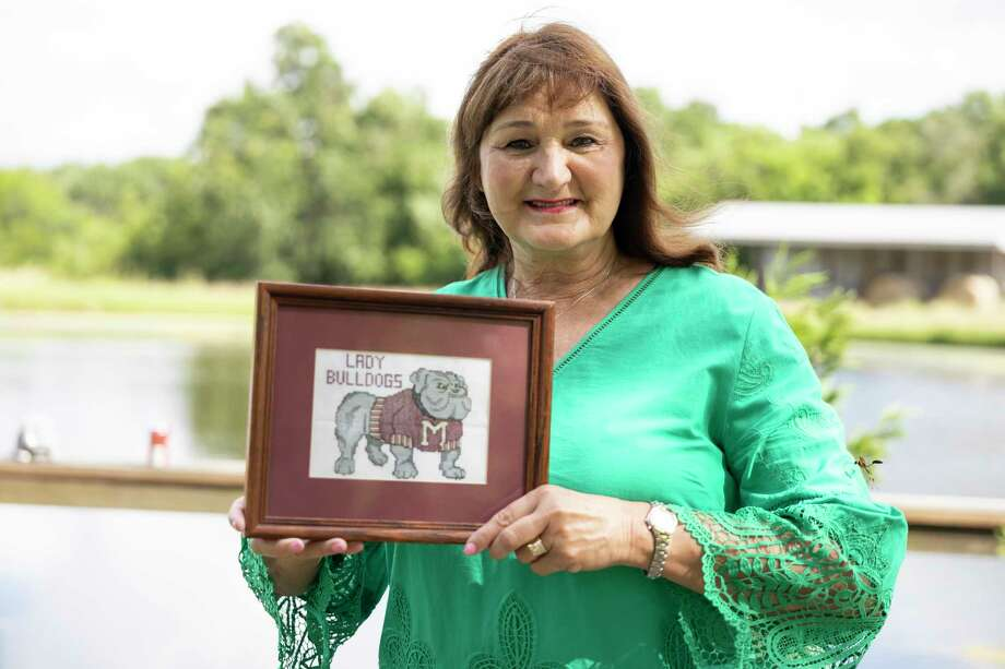 Magnolia High School lead counselor Roxy Gilchrist is retiring after 30 years with the school district. Photo: Gustavo Huerta, Houston Chronicle / Staff Photographer / Houston Chronicle © 2020