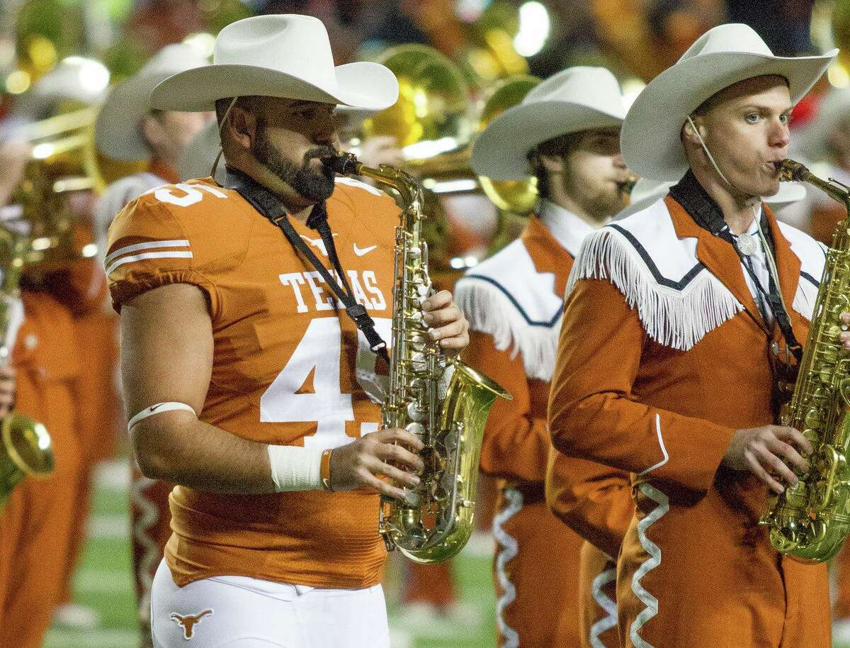 Shawn Izadi was a walk-on linebacker and played saxophone in the band while majoring in biochemistry. Izadi aspires to be a surgeon and recently graduated from UTRGV medical school.