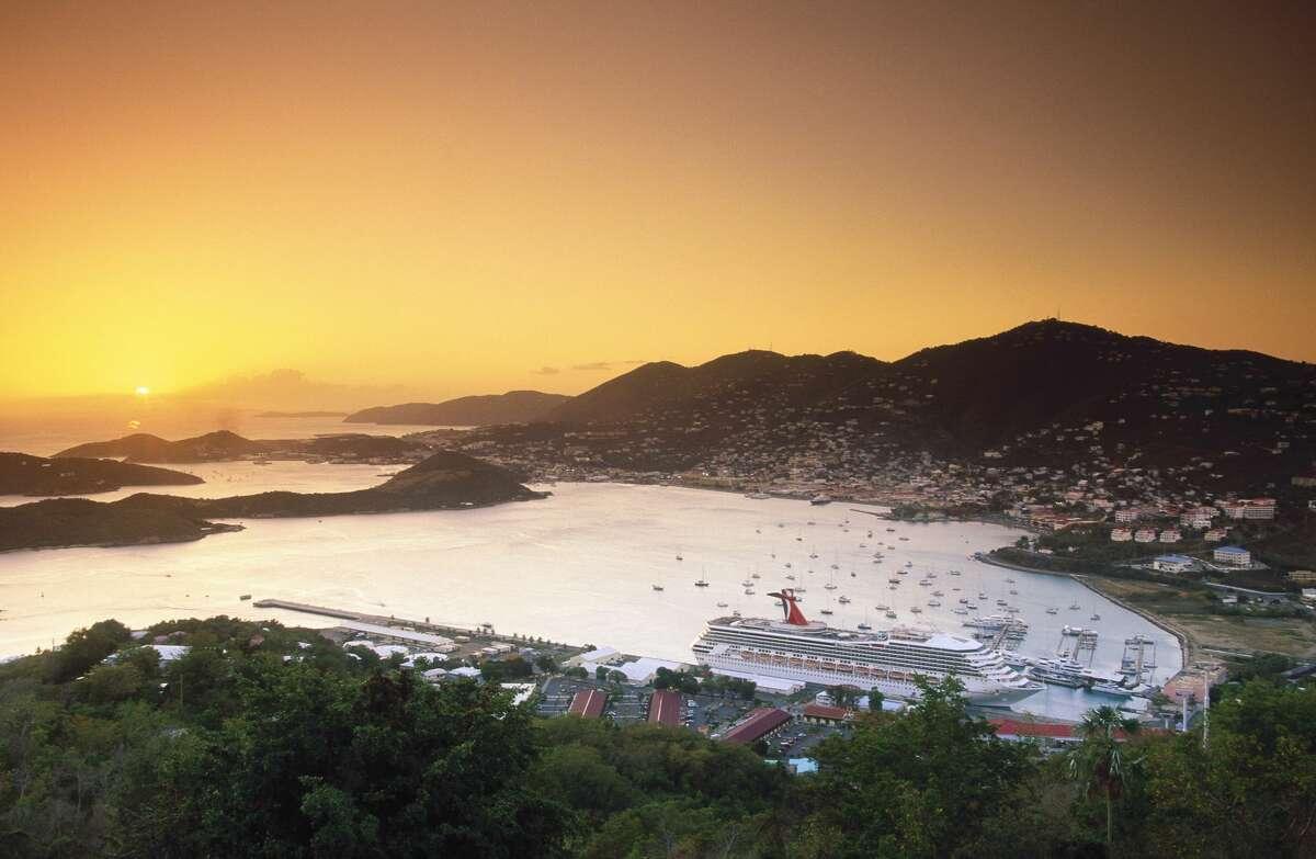 St Thomas, Charlotte Amalie, Harbour.