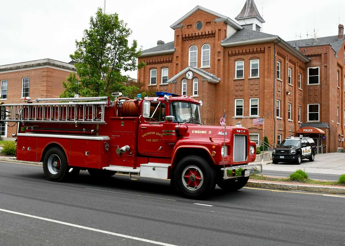 The Winchester Center and Winsted Fire Departments joined together to give the town a Memorial Day Parade on Sunday, May 25, 2020.