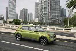 The 2020 Hyundai Venue has a30 mpg city, 34 highway fuel economy.