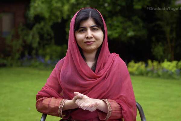 Malala Yousafzai speaks during Graduate Together: America Honors the High School Class of 2020 on May 16, 2020.