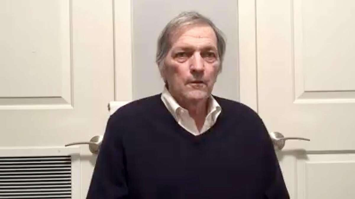 Rep. Mark DeSaulnier describes in a Facebook video his near-death experience after falling while running.