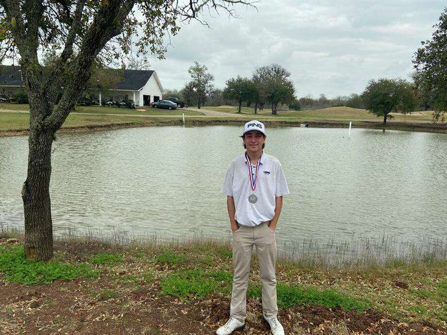 Lamar High School junior Bryant Hiskey was one of 18 first-team selections in Class 6A for the Texas Association of Golf Coaches all-state team. Photo: Lamar High School