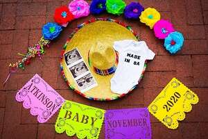 KENS 5 anchor Audrey Castoreno announced last Friday that her and her husband are expecting their first child, just in time for Fiesta.