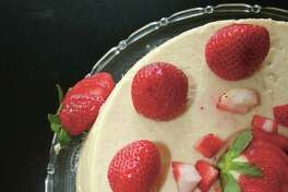 Cream Cheese Gelatin Delight: Nader's mother, Rose, served this at Christmas and on other special occasions.
