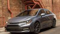 Toyota Corolla five-passenger sedan gets a makeover, along with a hybrid - Photo