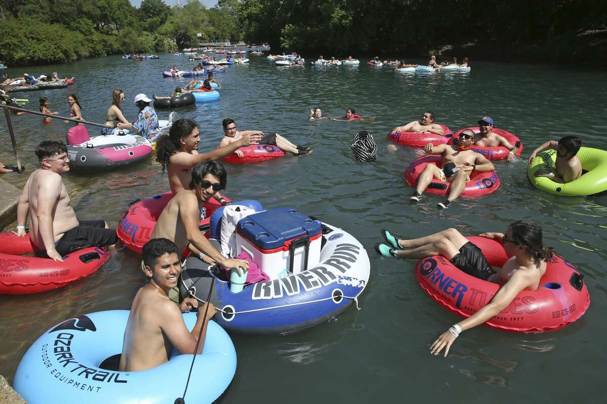Tubing is still happening on the Guadalupe and Comal Rivers despite state ordersissued Friday closing outfitters in response to the surge in COVID-19 cases.