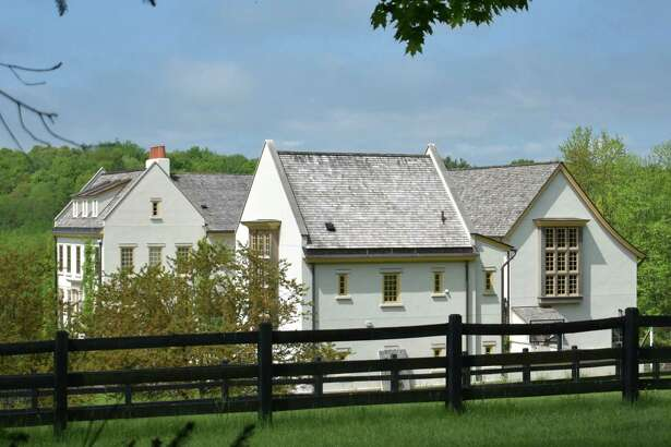 The main residence at Maple Hill Farm on Umpawaug Road in Redding, Conn., which was listed for sale in May 2020 for $19 million.
