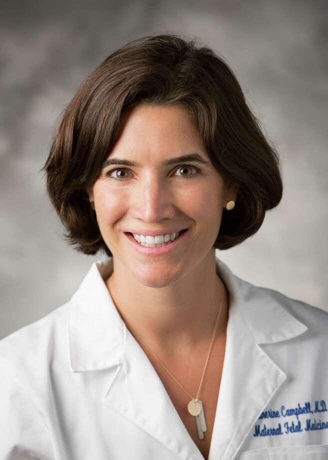 Dr. Katherine Campbell Photo: Yale University
