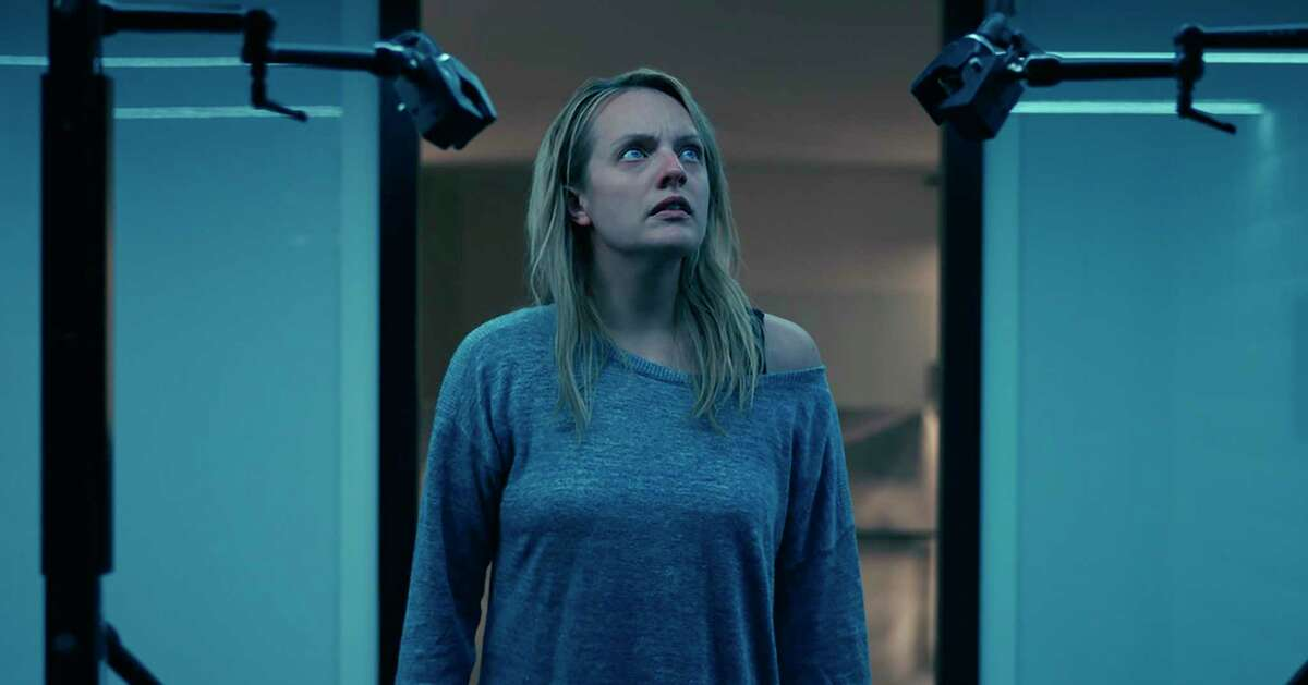 Elisabeth Moss sees through her abusive husband in