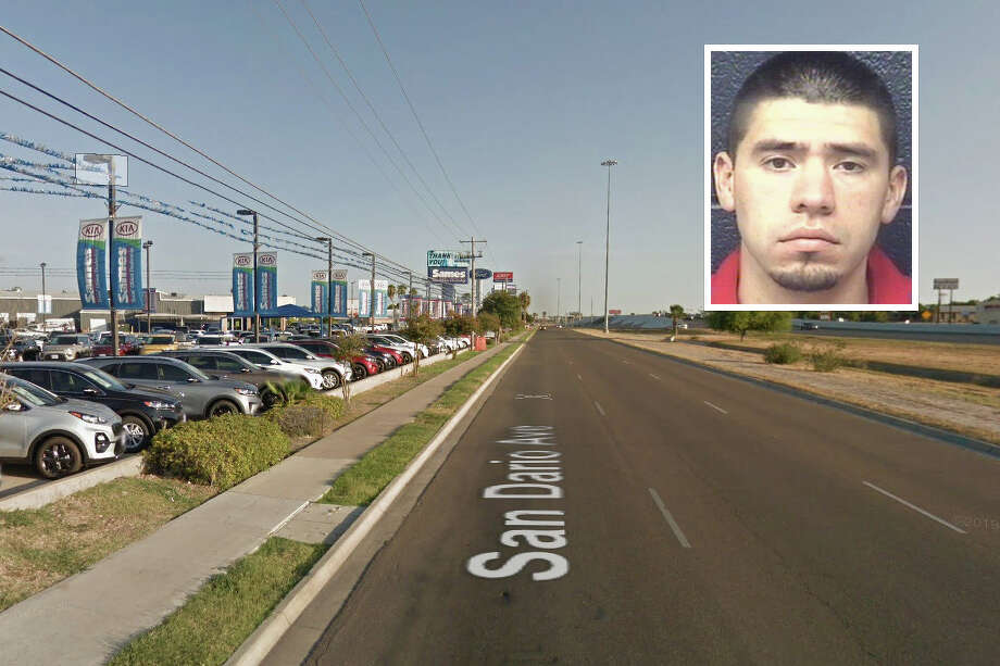 A man who took vehicles on a test drive but never returned to the dealership in separate incidents has been arrested, according to Laredo police. Photo: Courtesy