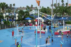 The H-E-B Splash Park was opened briefly during Spring Break at the Texas State Aquarium, but it will open for the summer on Memorial Day. The water park is included in the price of admission to the aquarium. (No outside food or drinks allowed.)