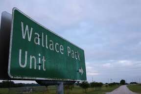 The Texas prison system's Wallace Pack Unit is just outside Navasota.