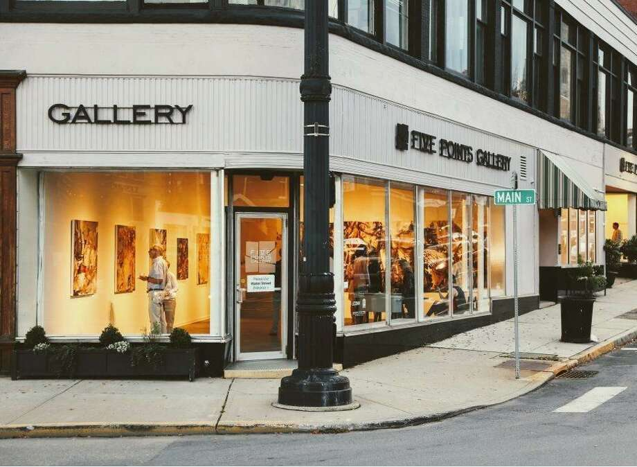 Five Points Gallery in Torrington is ready to reopen with new shows and activities. Photo: Contributed Photo