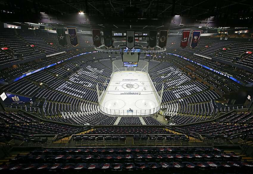 Nationwide Arena in Columbus, Ohio, is being considered as a hub if the season resumes.