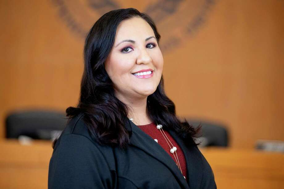 Dina Serrano might face censure from fellow trustees at an Edgewood ISD board meeting Monday. Photo: Contributed By Edgewood ISD /