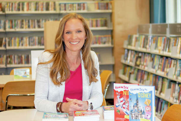 "Idea Tank for Kids founder Lowey Bundy Sichol at a book promotion for her award-winning ""From An Idea To"" books. are the first business and entrepreneurship biographies written for children. Last year she launched a contest, Idea Tank for Kids, and this year she amended the contest as Idea Tank for Kids AT HOME 2020."