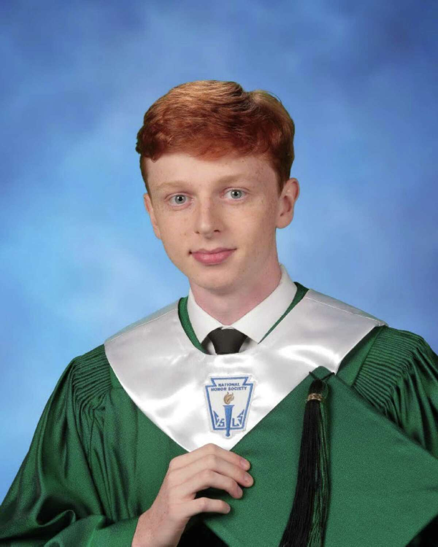 Kingwood Park High School Valedictorian Will Hurley.
