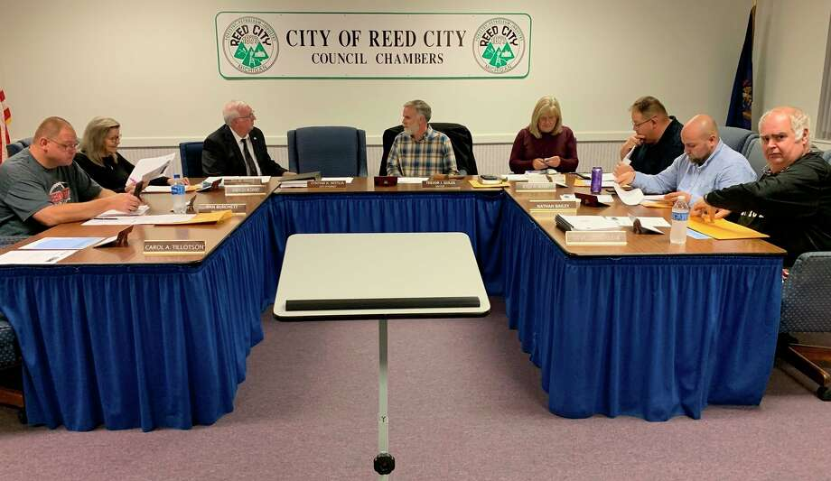 Reed city city council members expressed concerns regarding the recent town hall meeting hosted by Mayor Trevor Guiles, at the council meeting May 18. Council members said they were unaware of the meeting, and should have been notified ahead of time. (Herald Review file photo)