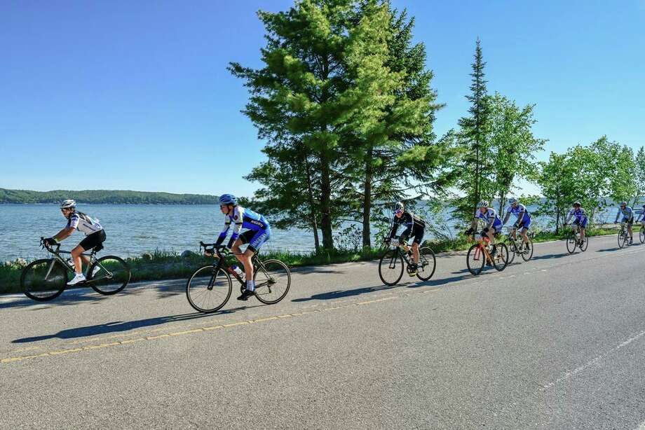 Riders participate in a past Bike Benzie event. (Submitted photo) / ©SteveLoveless